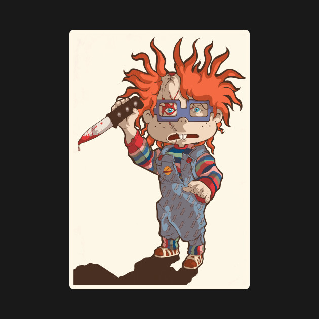 TeePublic: Rugrats Meets Childs Play - Chuckie or Chucky?