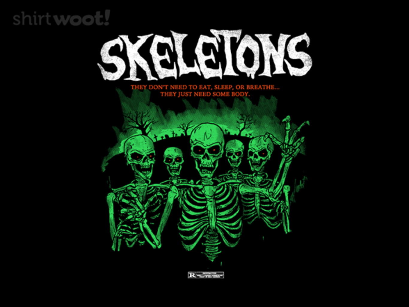 Woot!: Skeletons - $7.00 + $5 standard shipping
