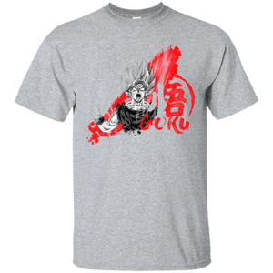 Pop-Up Tee: Red Goku