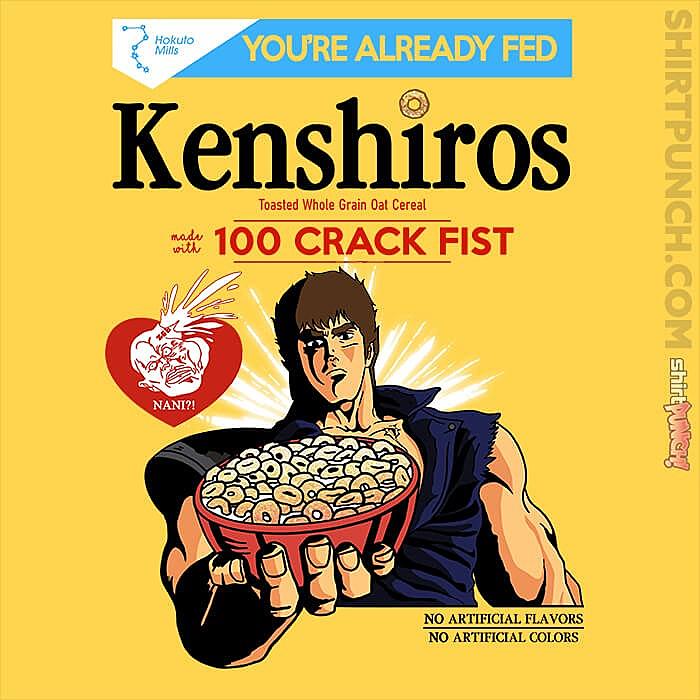ShirtPunch: Kenshiros