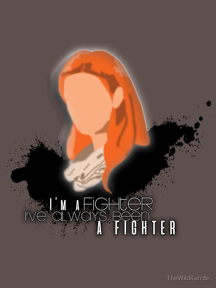 """RedBubble: Mara Jade - """"Fighter"""""""