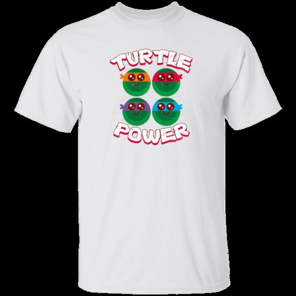 Pop-Up Tee: turtle_power  ar_rocketman