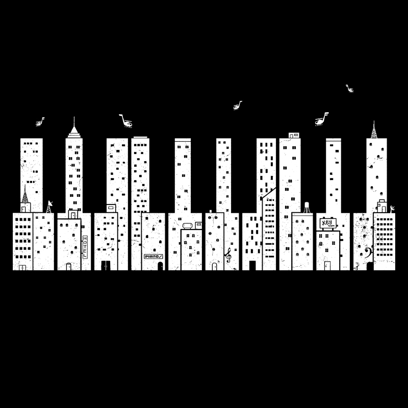 Pampling: Piano Skyline