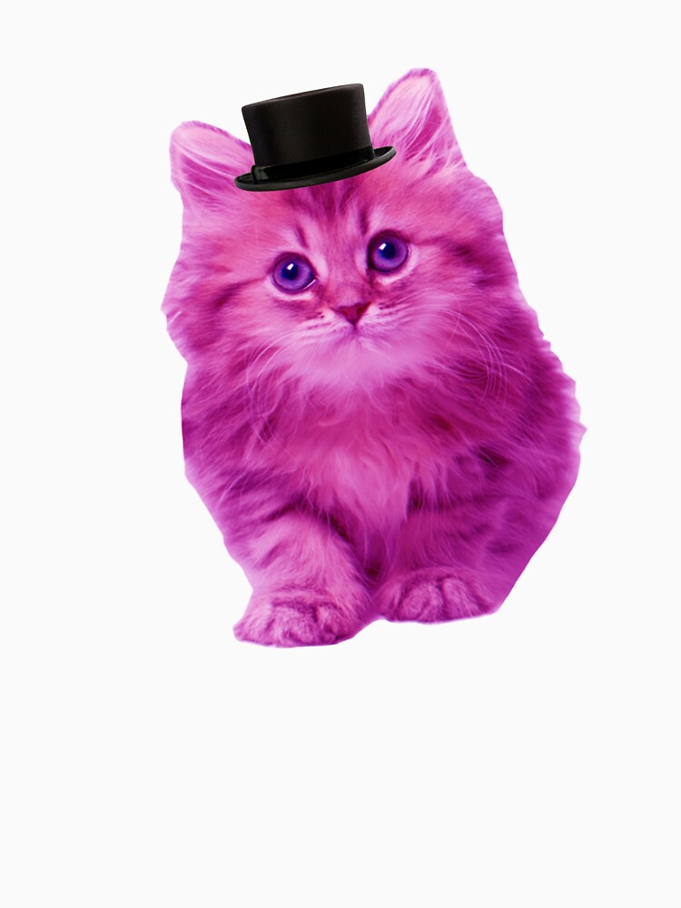 RedBubble: Top hat cat