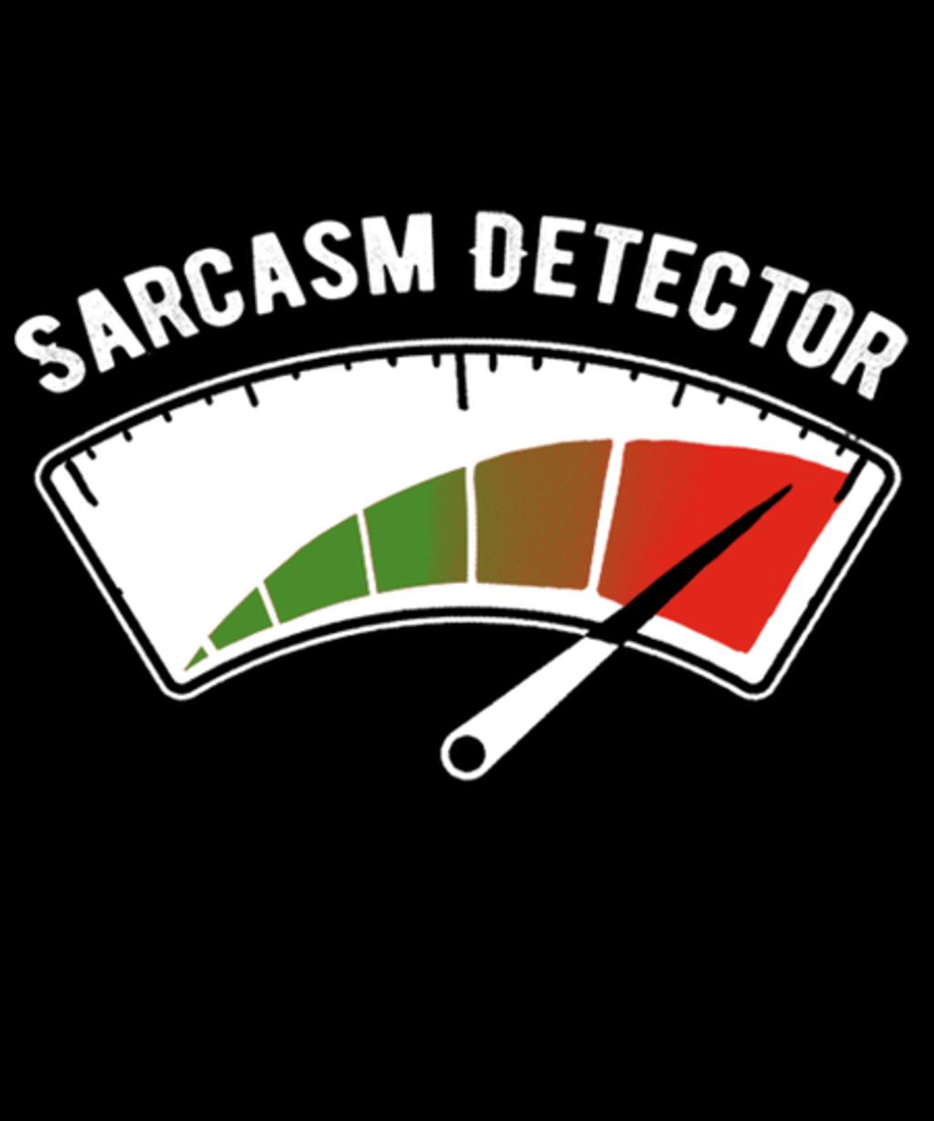 Qwertee: Sarcasm Detector