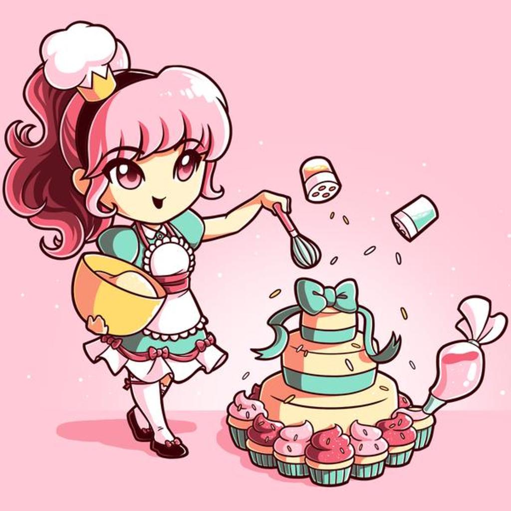 TeeTurtle: Baking Princess