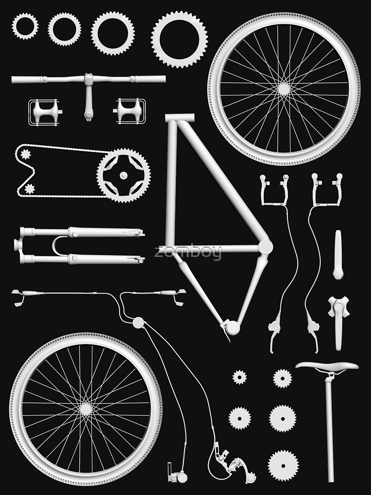 RedBubble: Bike Exploded