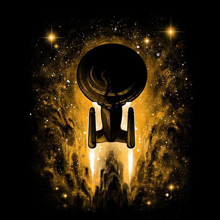 Once Upon a Tee: New Voyages in Space
