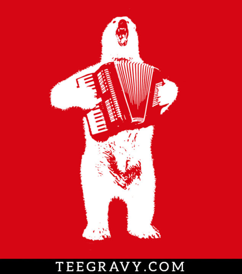 Tee Gravy: Polar Bear Polka