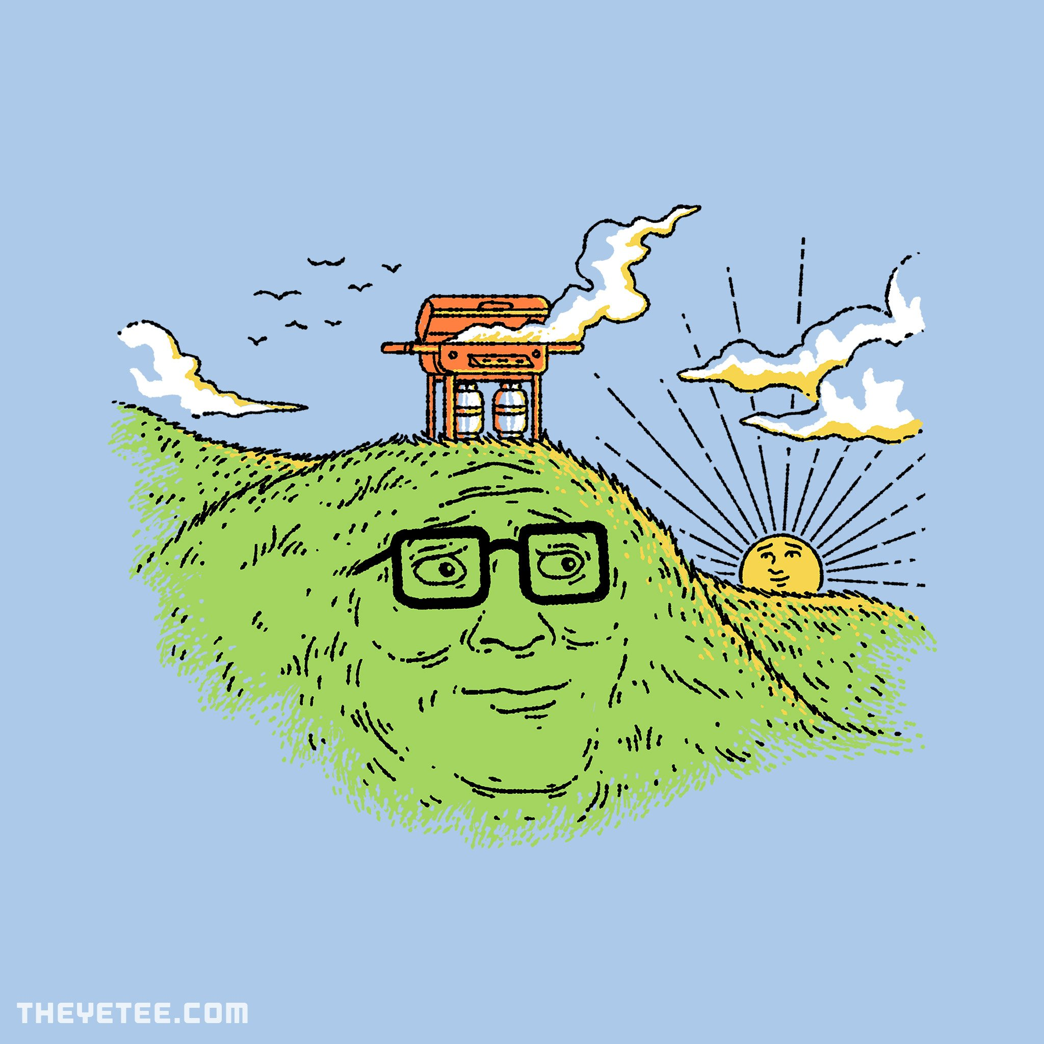 The Yetee: HANK'S HILL