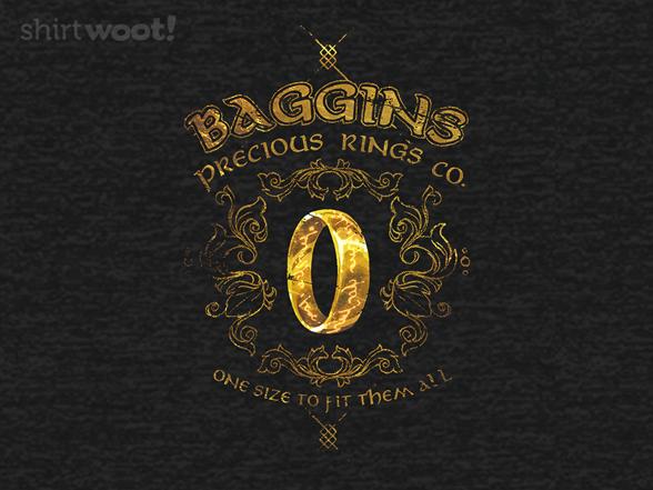 Woot!: Baggins Precious Rings