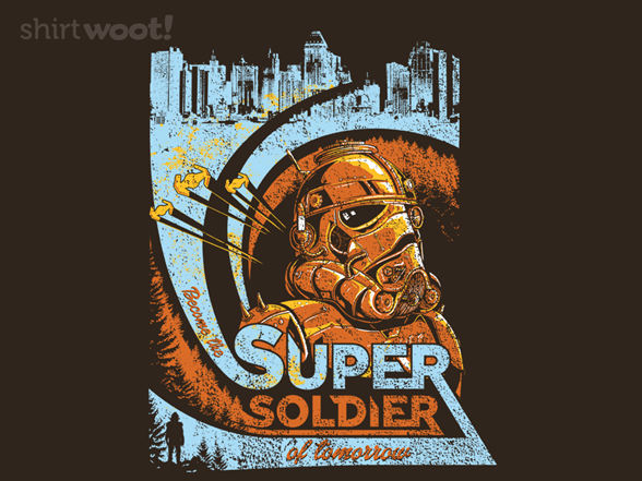 Woot!: Super Soldier