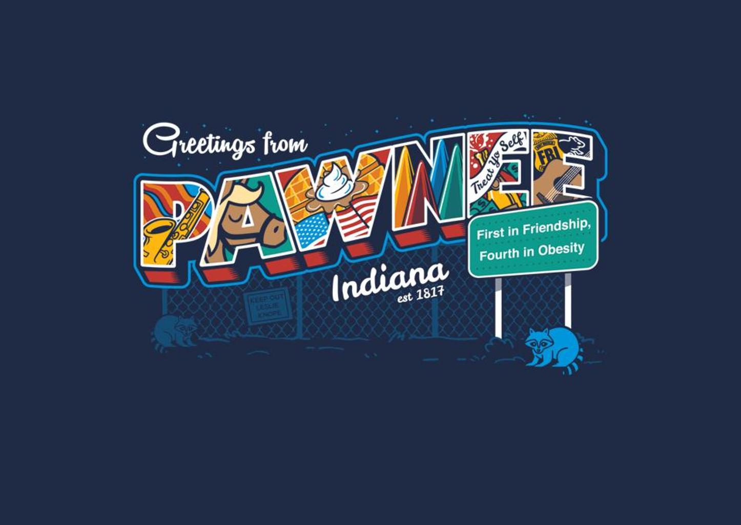 TeeFury: Greetings From Pawnee