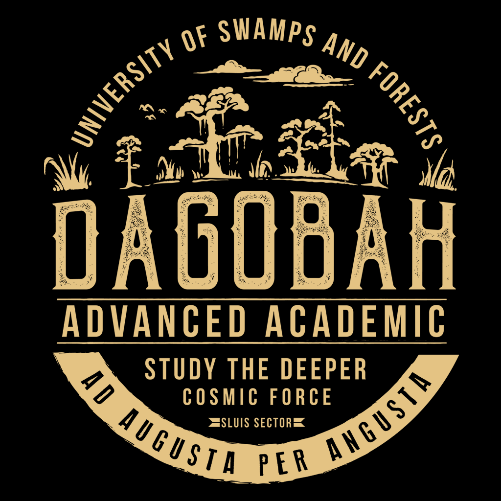 Pop-Up Tee: Dagobah University