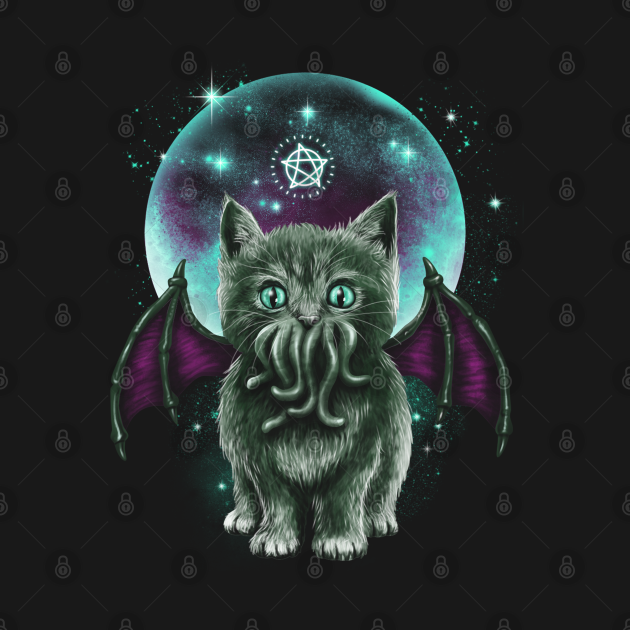 TeePublic: Cosmic Purrrcraft