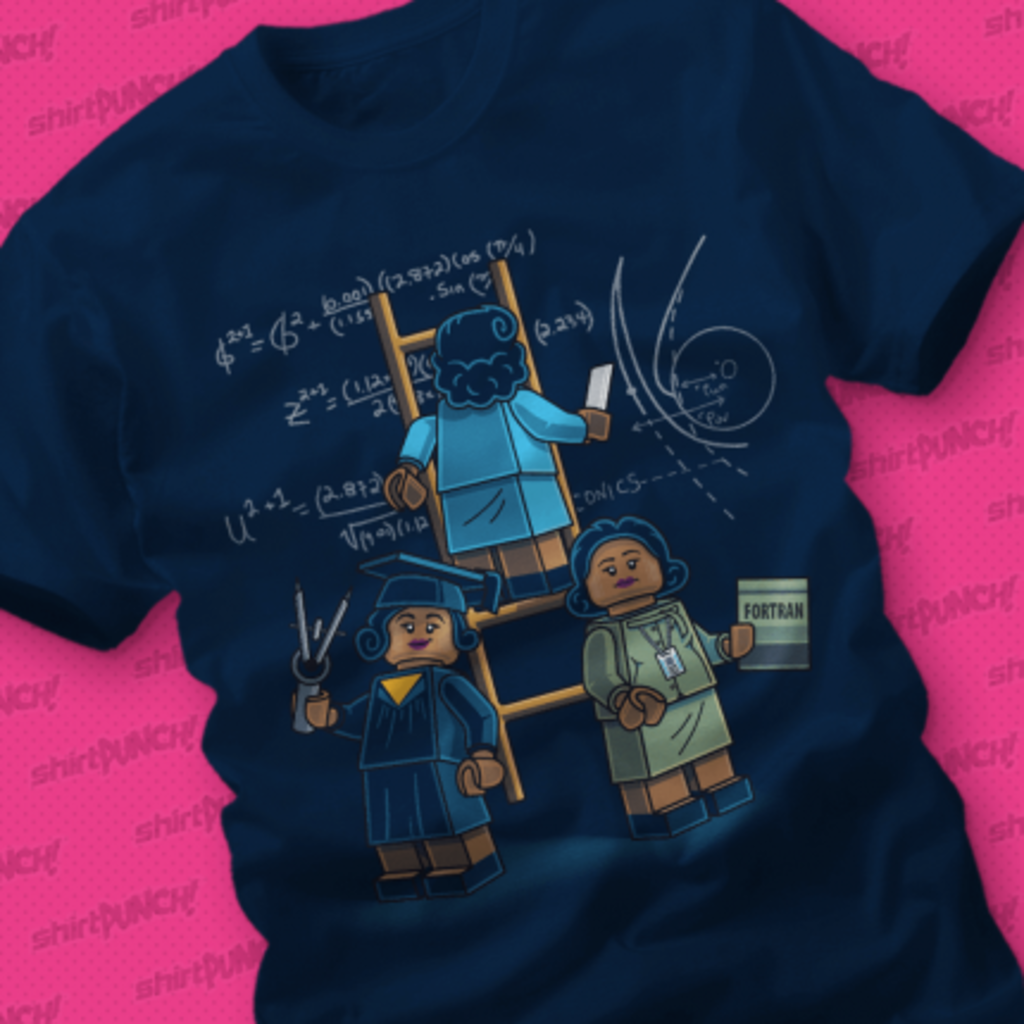 ShirtPunch: Math Women