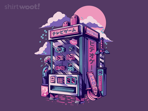 Woot!: Retro Vending Machine