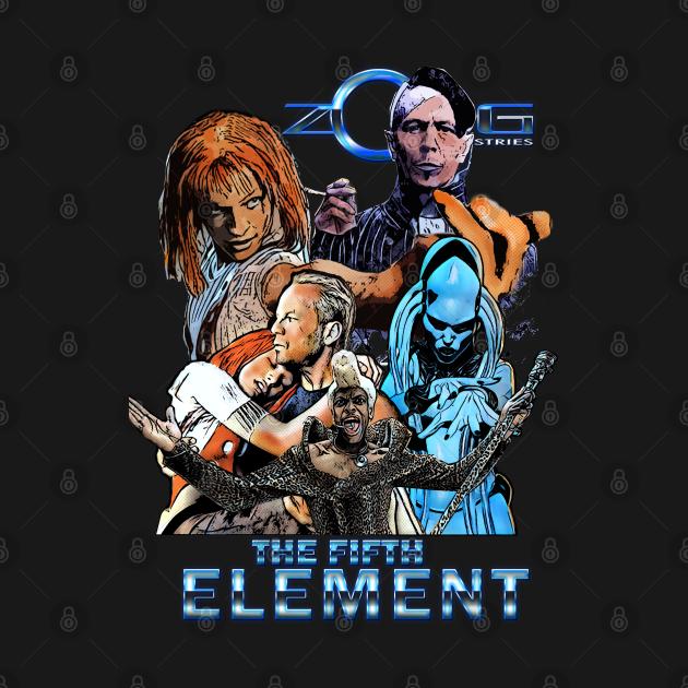 TeePublic: the Fifth Element