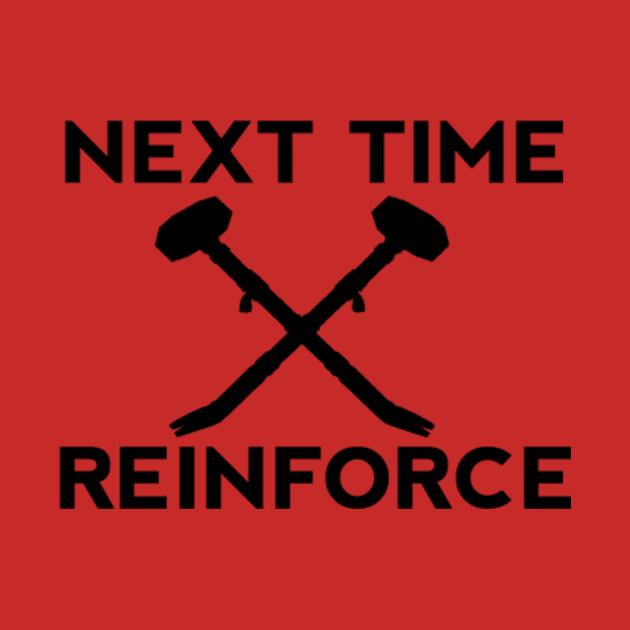 "TeePublic: Sledge ""Reinforce"" Design"