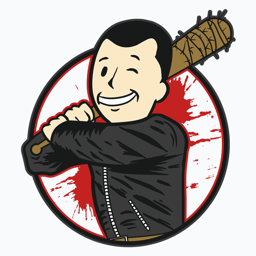 Pop-Up Tee: Hi I'm Negan