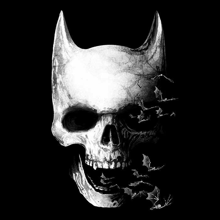 Once Upon a Tee: Bat Skull