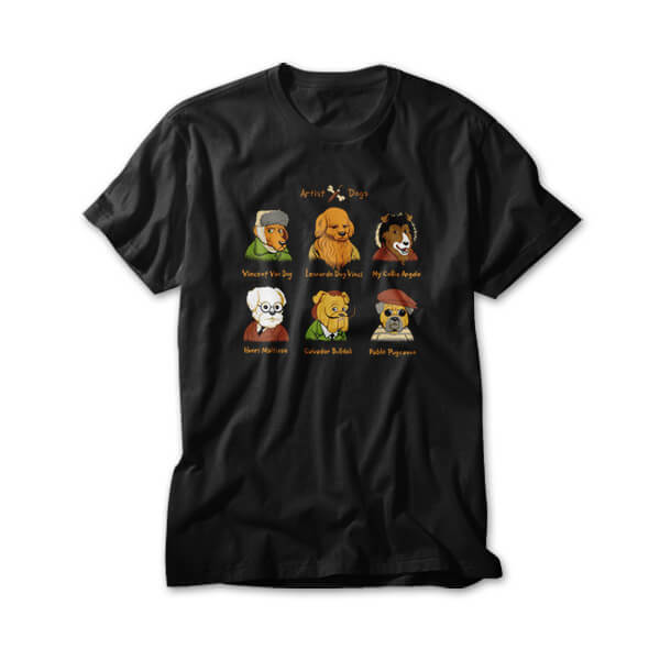 OtherTees: Artist Dogs