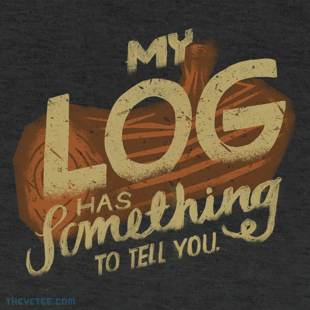 The Yetee: Log lady