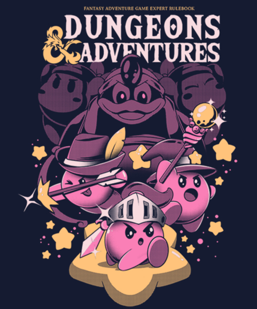 Qwertee: Dungeons and Adventures
