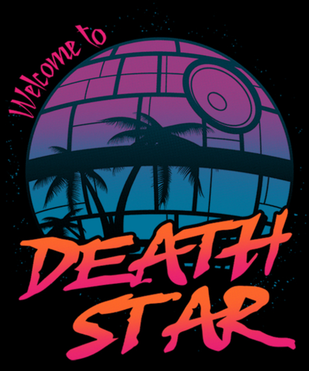 Qwertee: Welcome To Death Star