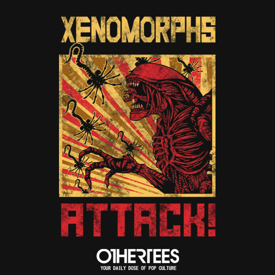 OtherTees: Xenomorphs Attack