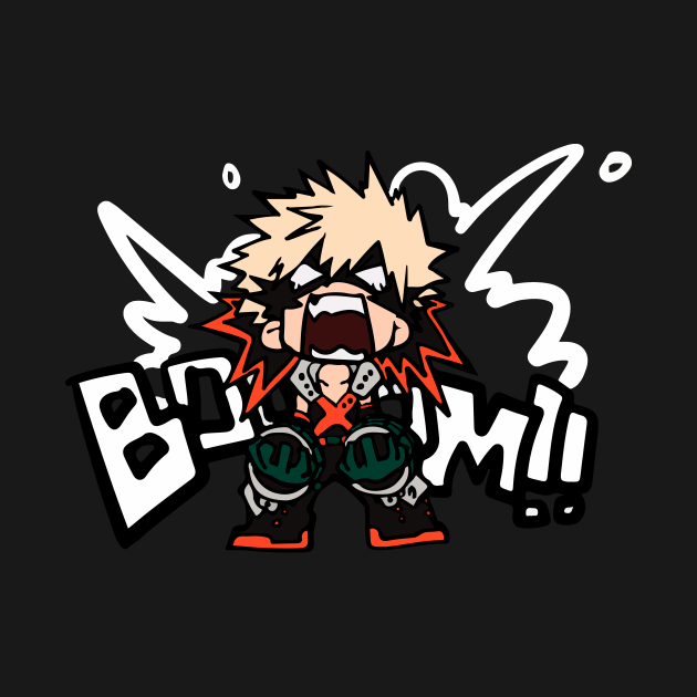 TeePublic: My Hero Academia: Katsuki Bakugo - BOOOM!!