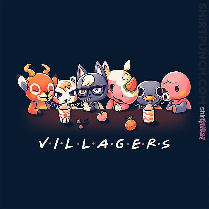 ShirtPunch: Animal Crossing Friends