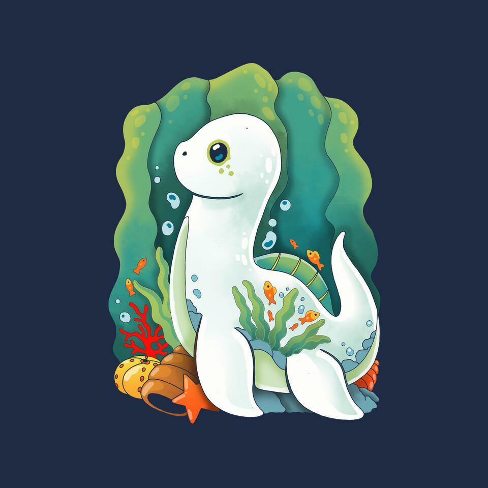 TeeFury: Plesiosaurus