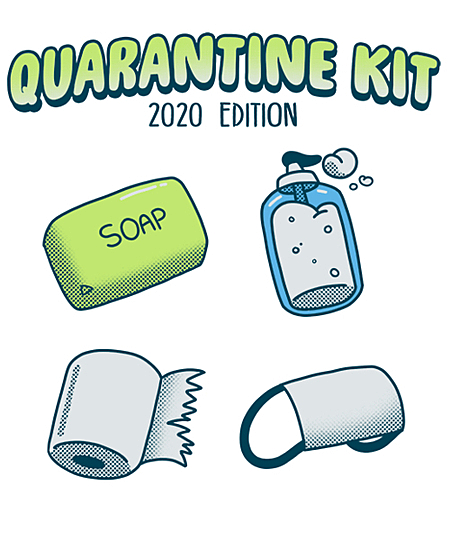 Qwertee: Quarantine Kit