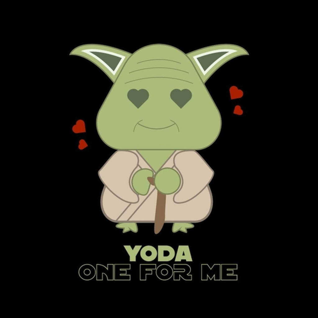 BustedTees: Yoda One For Me