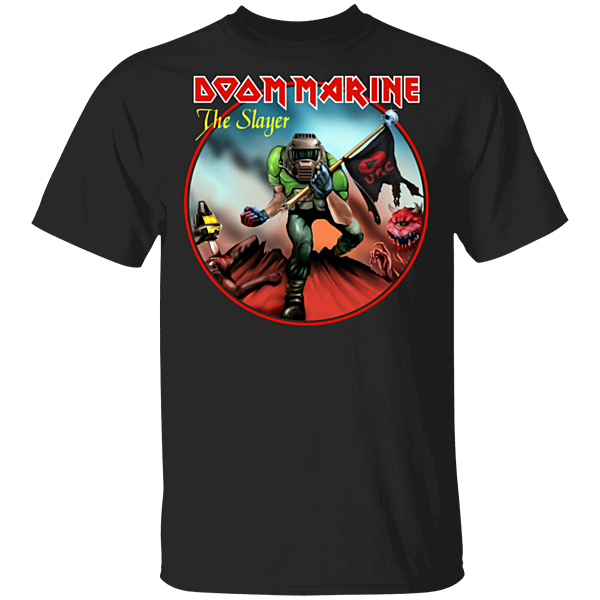Pop-Up Tee: Doom Marine