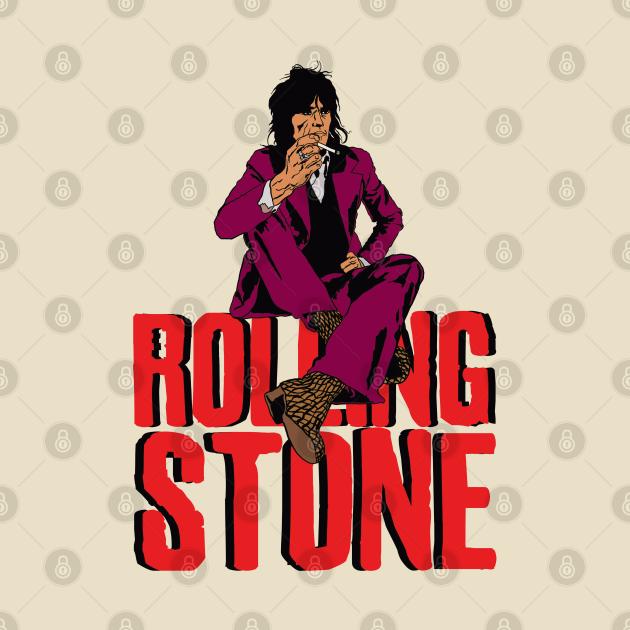 TeePublic: Keith Rock Band Stones