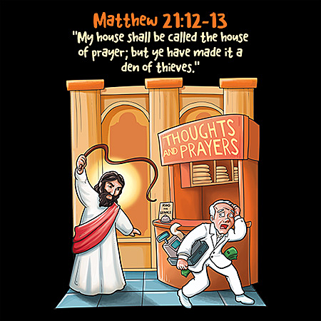 MeWicked: Jesus Went into the Temple and Drove out the Moneychangers (Short Version)