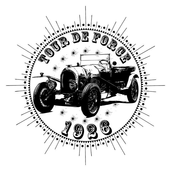 NeatoShop: Vintage Classic Car 1926 Tour De Force Bentl