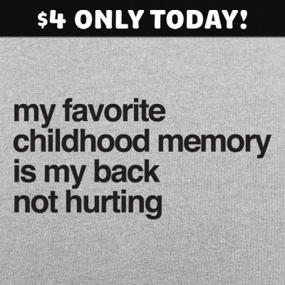 6 Dollar Shirts: Favorite Childhood Memory
