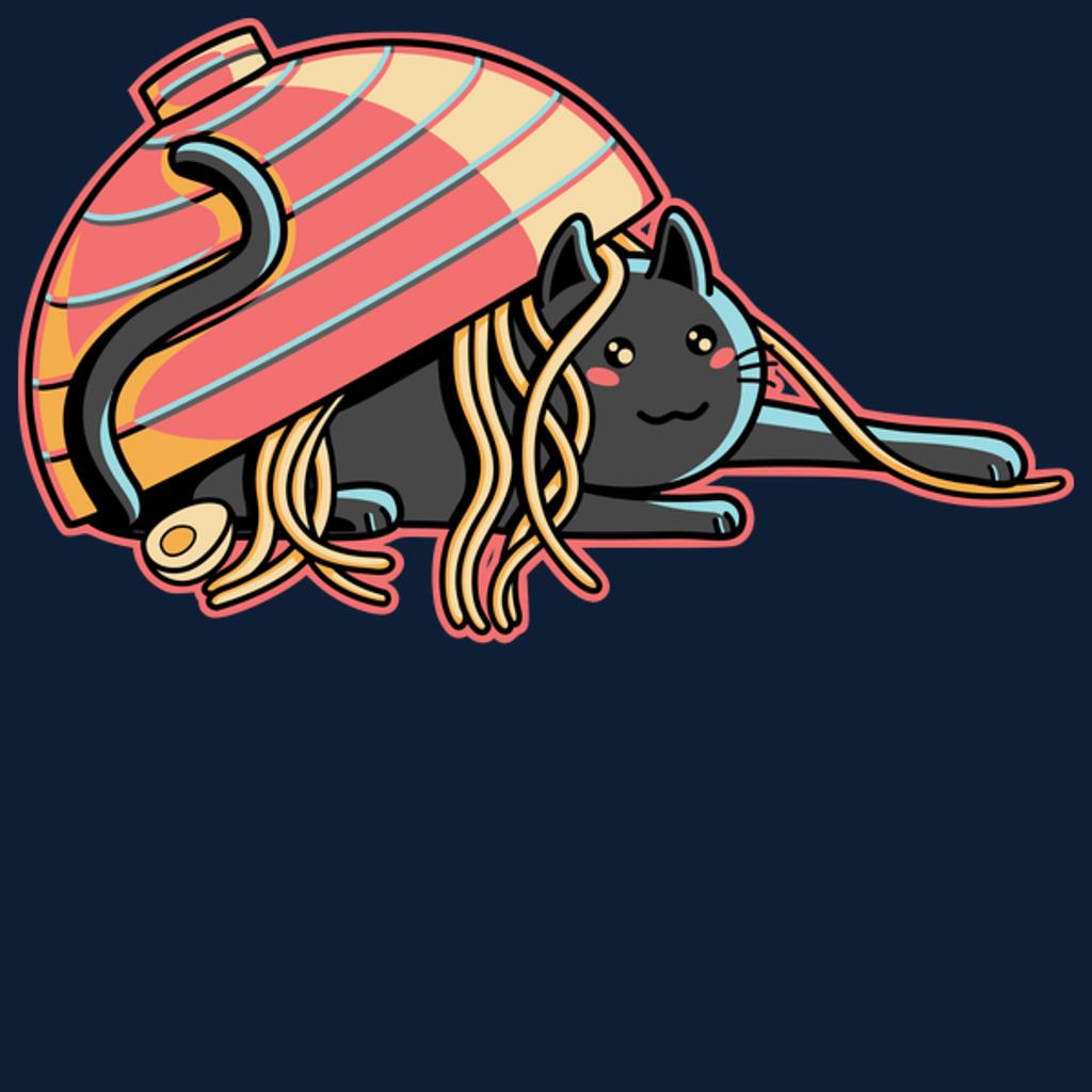 NeatoShop: Ramen loving cat