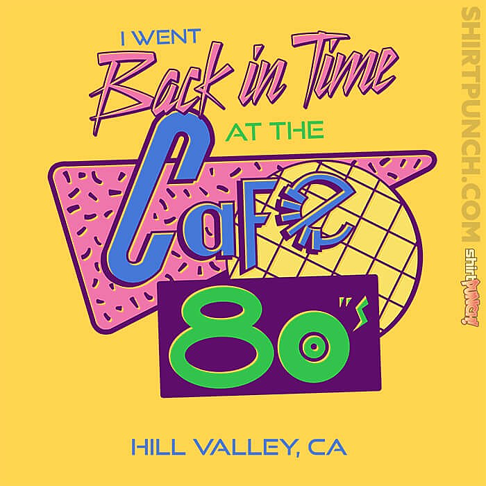 ShirtPunch: Cafe 80s