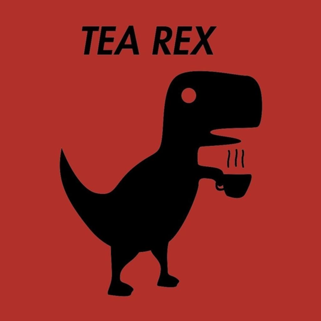 BustedTees: silluette t-rex