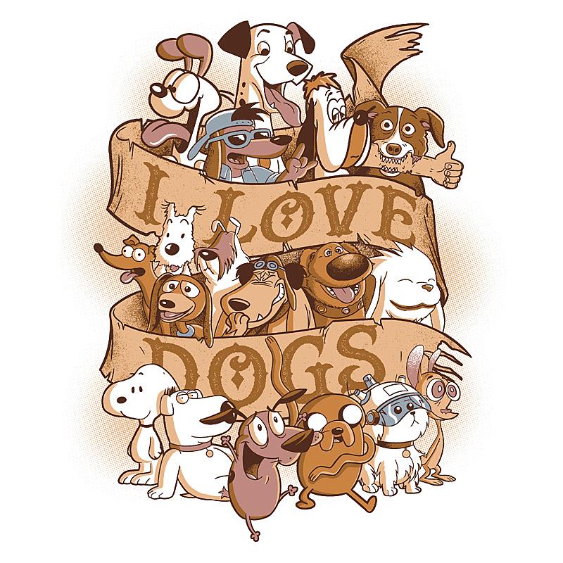 Pampling: I Love Dogs