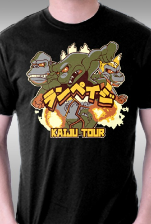 TeeFury: Kaiju Tour