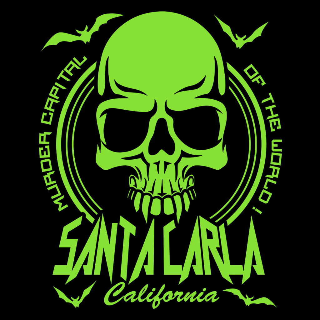 Pop-Up Tee: Santa Carla - Murder Capital Of The World!