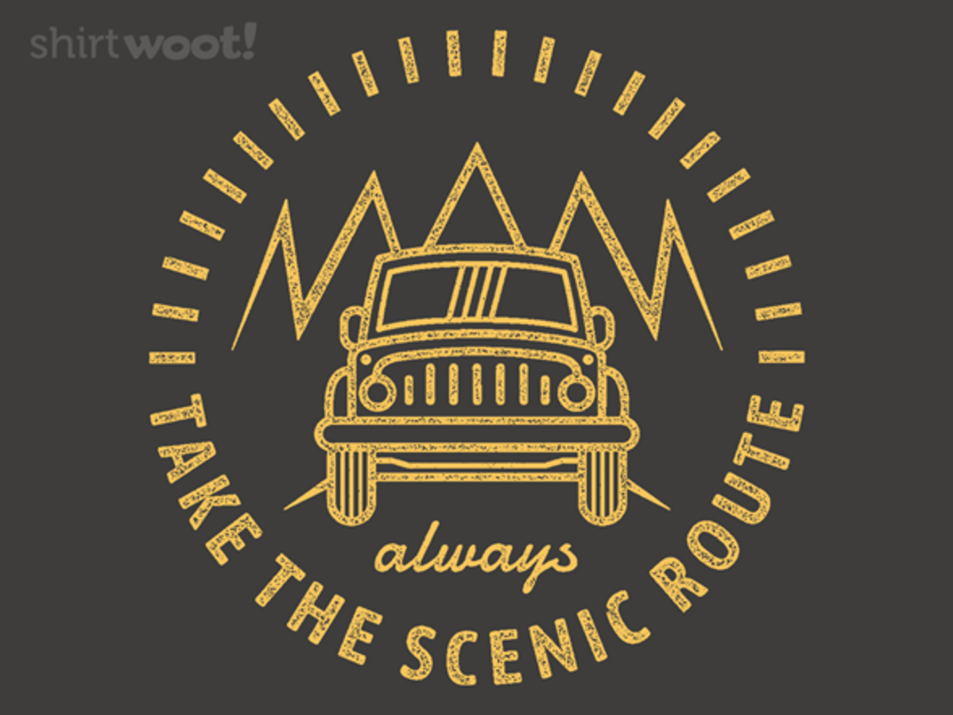Woot!: Taking the Scenic Route