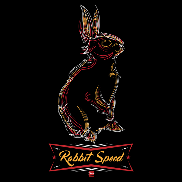 NeatoShop: Rabbit Speed Pinstripe Bunny