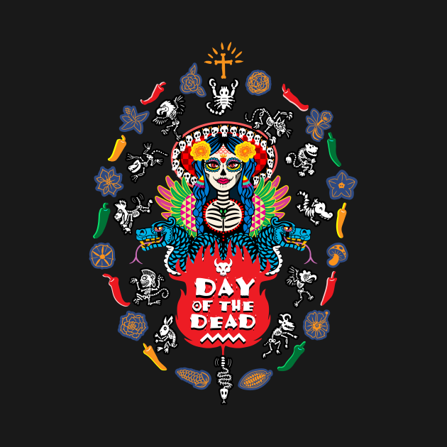 TeePublic: Day of the Dead!