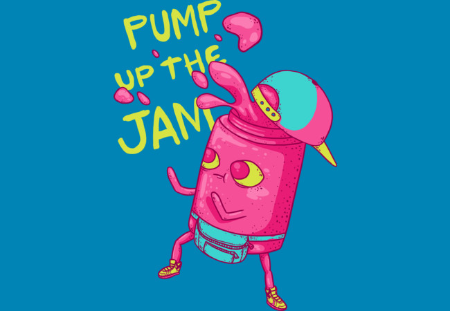 Design by Humans: Pump the Jam